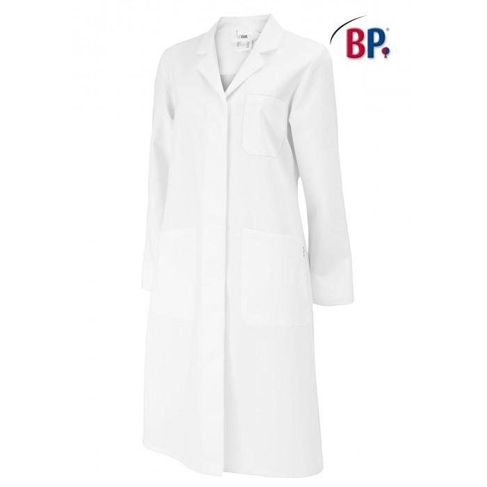 BP Damen Kittel aus Mischgewebe, 50%Polyester/50%Baumwolle, mit Rückengurt, 215g/m²