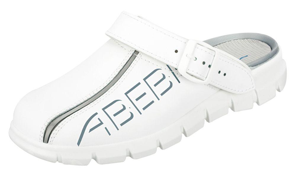 Abeba Berufsschuh weiß CE, EN ISO 20347:2012,OB,A,E,FO,SRC